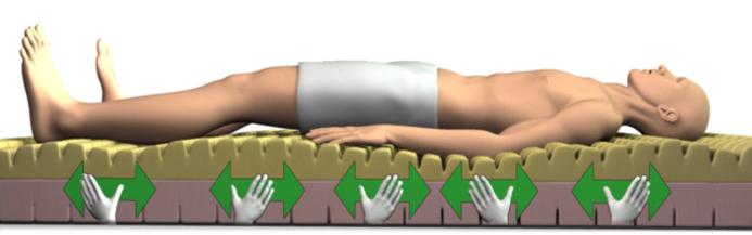 hands massage