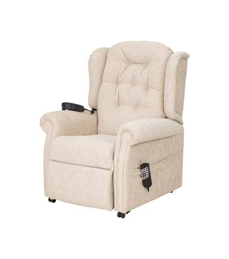 QVC Button Back Chair - Cream