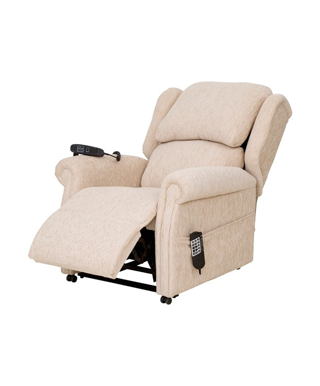 QVC Cushion Back Chair - Cream